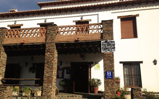 Отель Rural El Picón De Sierra Nevada вид на фасад