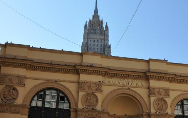 Хостел в Смоленском Переулке вид на фасад