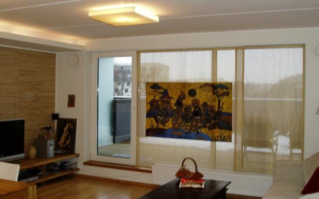 Апартаменты Juhkentali Street Apartment Таллин комната для гостей