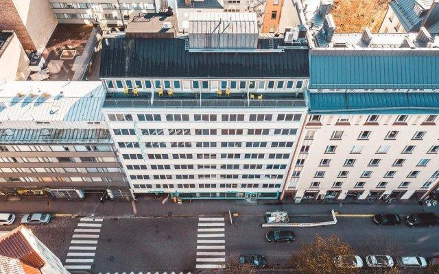 Отель Forenom Aparthotel Helsinki Kamppi Финляндия, Хельсинки - 1 отзыв об отеле, цены и фото номеров - забронировать отель Forenom Aparthotel Helsinki Kamppi онлайн вид на фасад
