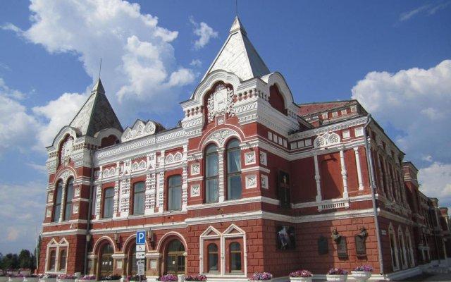 Гостиница Грин Лайн Самара вид на фасад