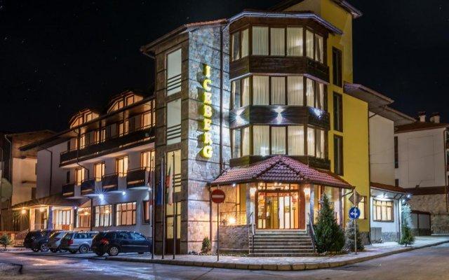 Hotel Iceberg Bansko вид на фасад