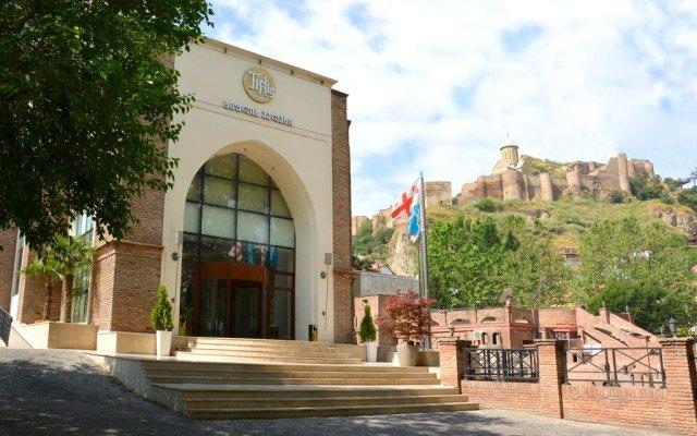 Отель Tiflis Palace вид на фасад