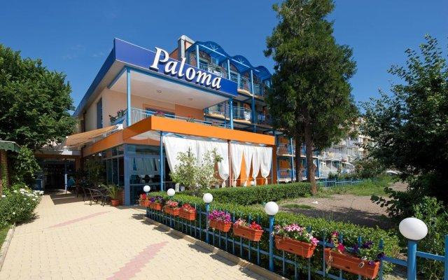 Paloma Hotel Солнечный берег вид на фасад