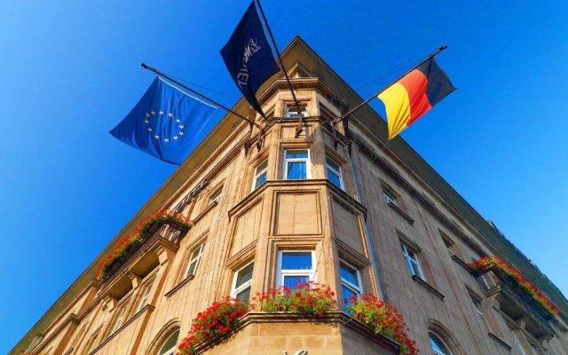 Le Méridien Grand Hotel Nürnberg вид на фасад