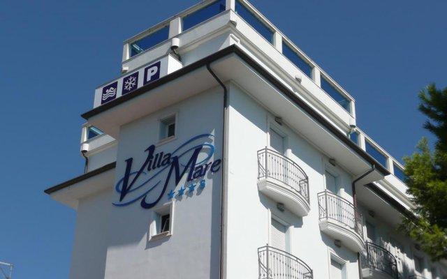 Отель Villa Mare Италия, Риччоне - отзывы, цены и фото номеров - забронировать отель Villa Mare онлайн вид на фасад