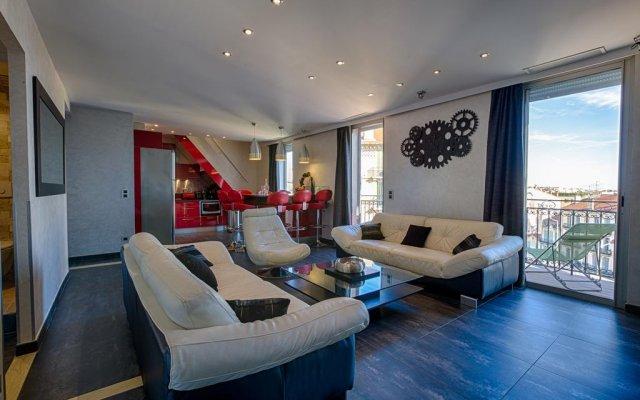 RG Duplex - 4 chambres -  LRA Cannes 2