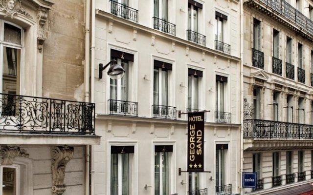 Отель George Sand Франция, Париж - отзывы, цены и фото номеров - забронировать отель George Sand онлайн