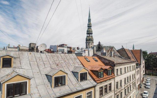 Отель Hostel Bunka Латвия, Рига - отзывы, цены и фото номеров - забронировать отель Hostel Bunka онлайн вид на фасад