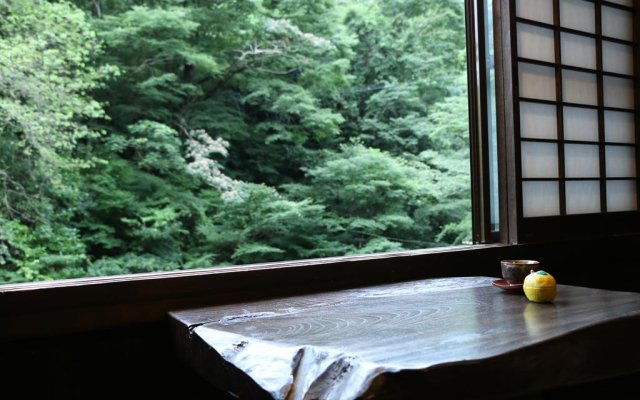 Отель Ryokan Fukumotoya Минамиогуни комната для гостей