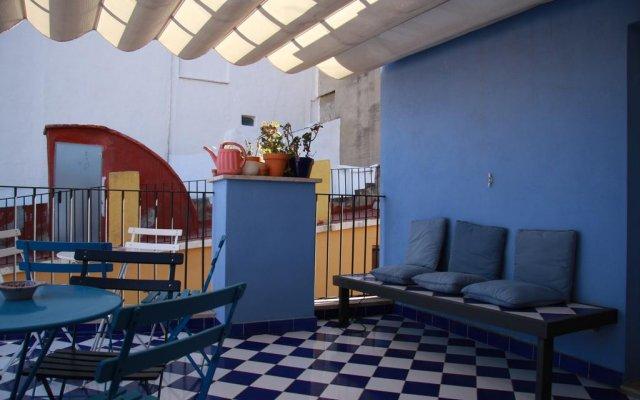 Отель La Casa Azul Валенсия комната для гостей