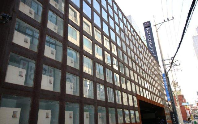 Art Hotel вид на фасад