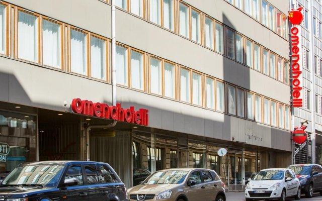 Omena Hotel Helsinki Lonnrotinkatu Хельсинки парковка