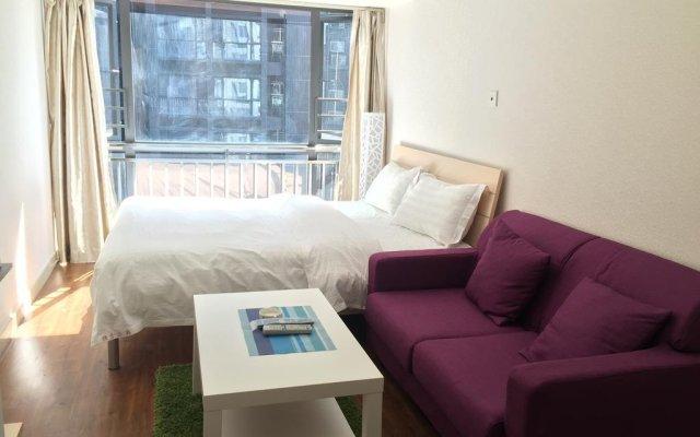 Апартаменты Shenzhen Grace Apartment комната для гостей