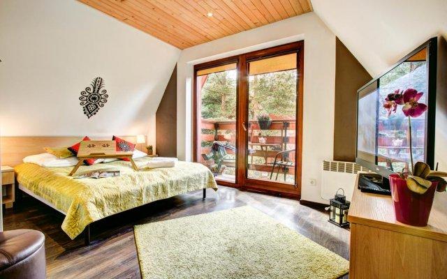 Отель Dolina Resort Zakopane Косцелиско комната для гостей