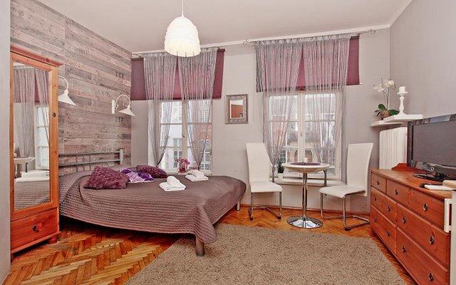 Отель Apartament Kameralny na Starówce Гданьск комната для гостей