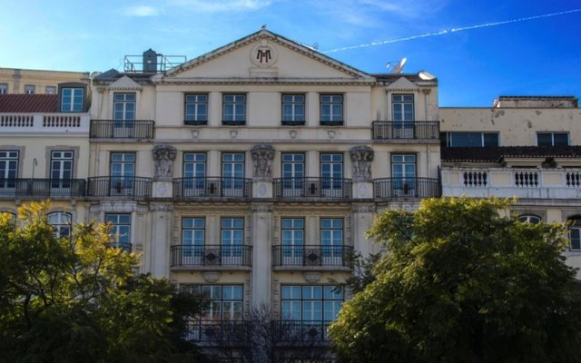 Hotel Metropole вид на фасад