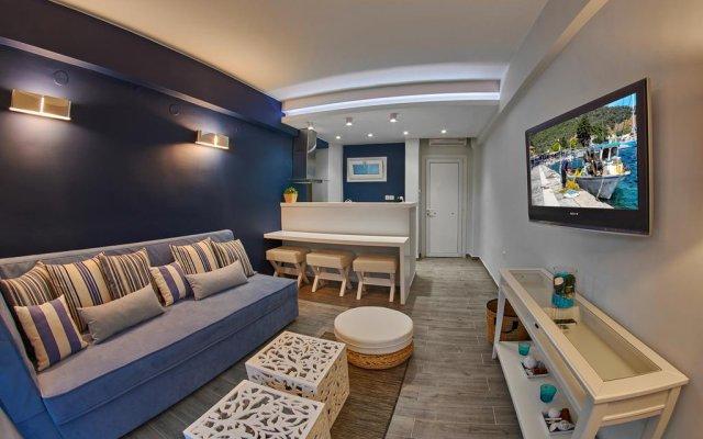 Отель Aiolis Studios Ситония комната для гостей