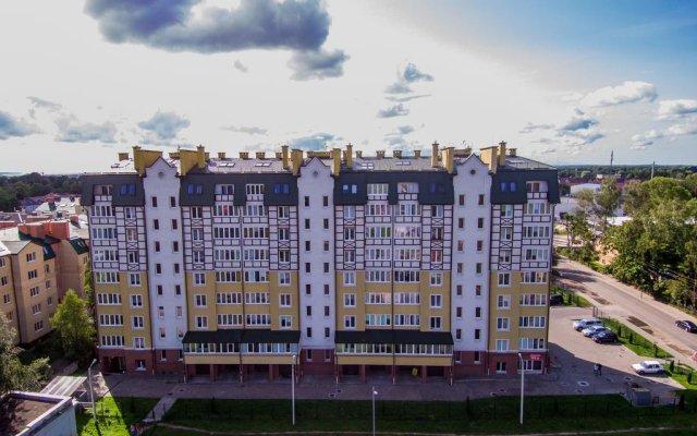 Отель AMBER-HOME Калининград вид на фасад
