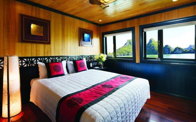 Отель Bai Tho Deluxe Junks комната для гостей