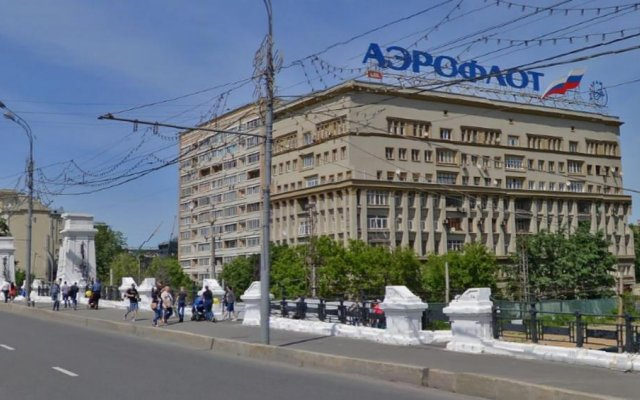 Mini Hotel Na Belorusskoy вид на фасад