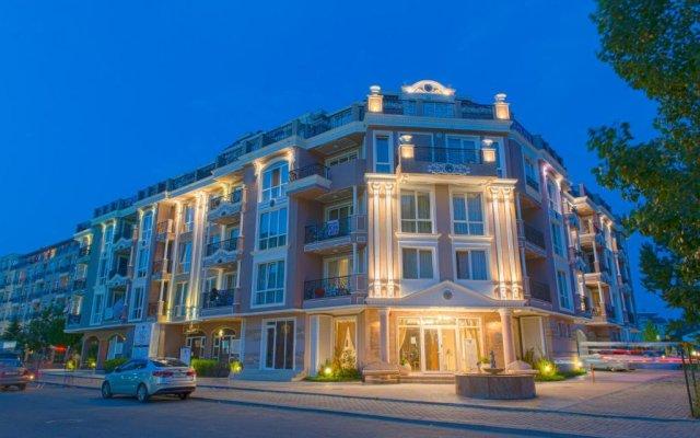 Отель Aparthotel Izida Palace Солнечный берег вид на фасад