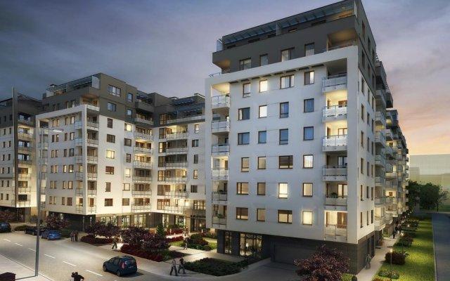 Апартаменты Chopin Apartments Capital вид на фасад