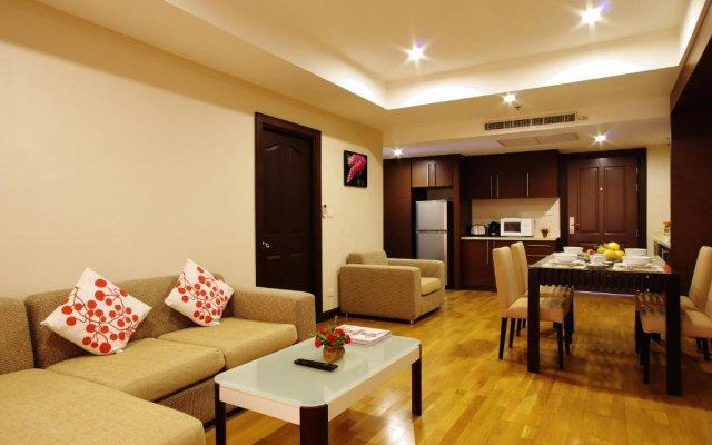 Отель Ninth Place Serviced Residence Бангкок комната для гостей