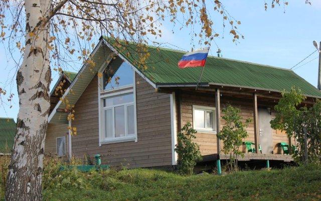 Гостиница Baza otdykha Tikhiy Bereg вид на фасад