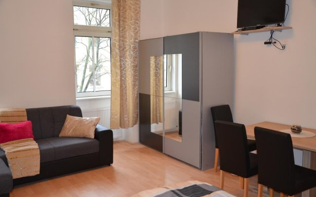 Апартаменты Prater Messe Apartments комната для гостей