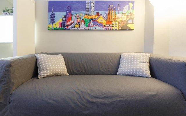 Отель Apartamento Sleepingbcn Испания, Барселона - отзывы, цены и фото номеров - забронировать отель Apartamento Sleepingbcn онлайн комната для гостей
