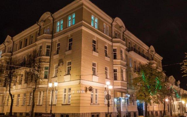 Гостиница Эридан вид на фасад