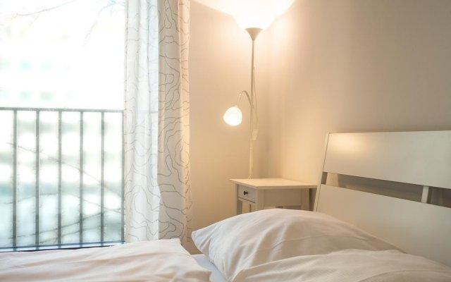 Отель Mainhatten Apartment Германия, Франкфурт-на-Майне - отзывы, цены и фото номеров - забронировать отель Mainhatten Apartment онлайн комната для гостей