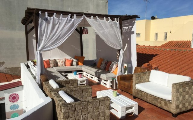 Orange Terrace Hostel комната для гостей