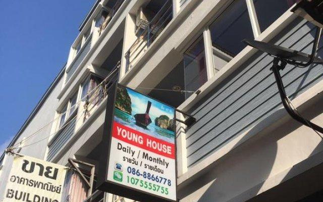 Отель Young House вид на фасад