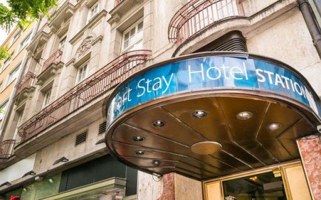 Smart Stay Hotel Station вид на фасад
