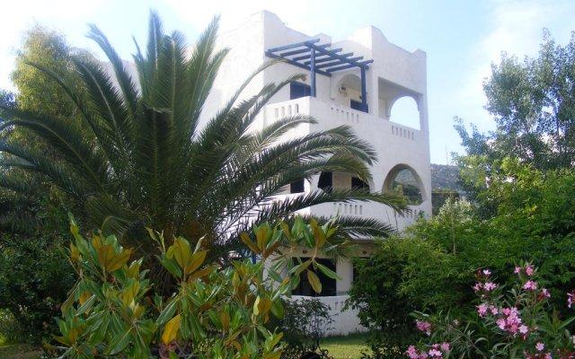 Отель Kalamitsi Studios вид на фасад