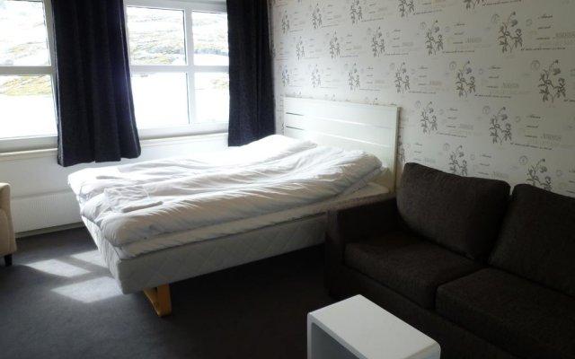 Отель Djupvasshytta комната для гостей