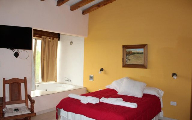 Отель Finca Cabanas Terrazas del Diamante Сан-Рафаэль комната для гостей