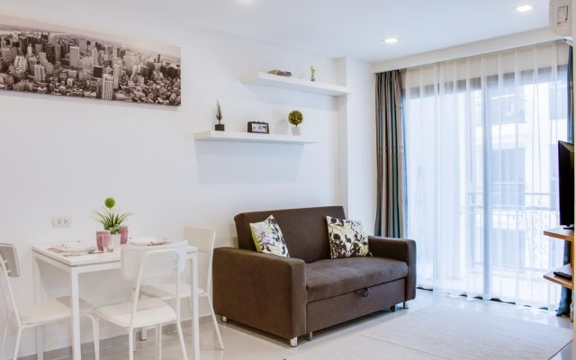 Отель City Garden Pratamnak Condominium By Mr.butler Паттайя комната для гостей