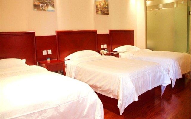 GreenTree Inn JiangXi JiuJiang Railway Station Business Hotel комната для гостей