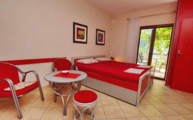 Отель Apartmani Ćetković Черногория, Доброта - отзывы, цены и фото номеров - забронировать отель Apartmani Ćetković онлайн комната для гостей