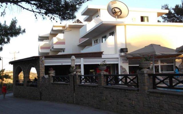 Отель Panorama Studios Родос вид на фасад