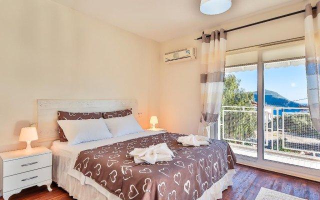 Villa Merve Турция, Калкан - отзывы, цены и фото номеров - забронировать отель Villa Merve онлайн комната для гостей