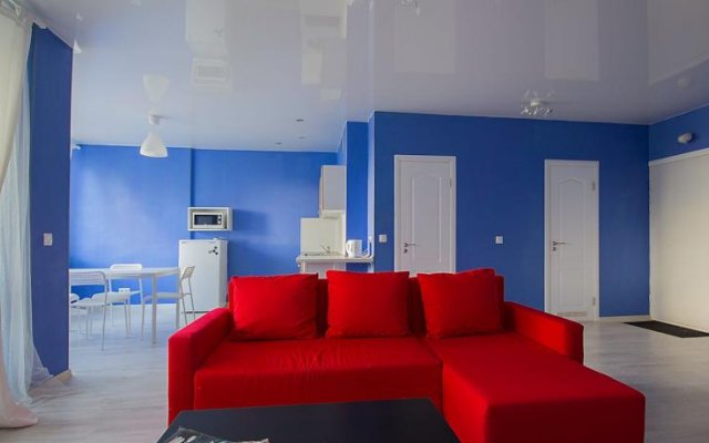 Апартаменты Crown Apartments - Minsk Минск комната для гостей