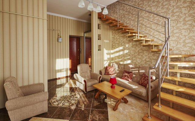 Отель LvivHouse Ivana Franka St. appartment Львов комната для гостей
