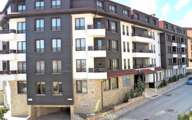Отель Aparthotel Aspen вид на фасад