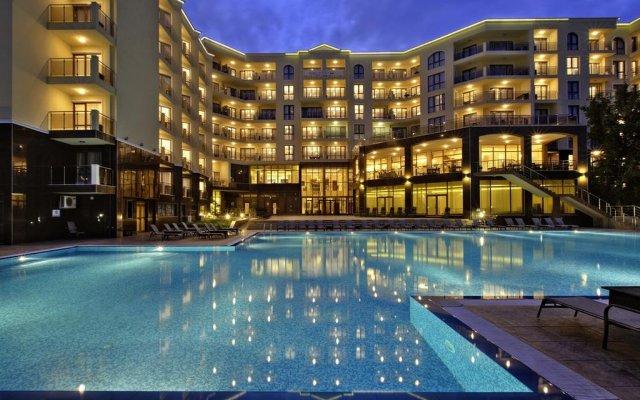 Апарт-Отель Golden Line вид на фасад