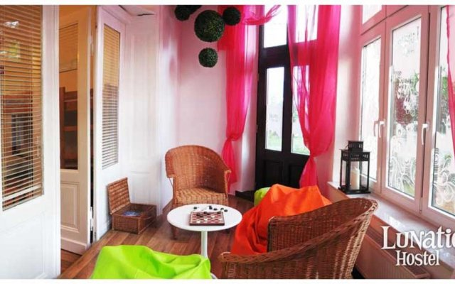 Lunatic Hostel Сопот комната для гостей