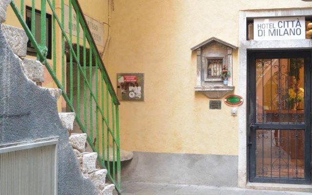 Отель Città di Milano Италия, Венеция - 11 отзывов об отеле, цены и фото номеров - забронировать отель Città di Milano онлайн вид на фасад